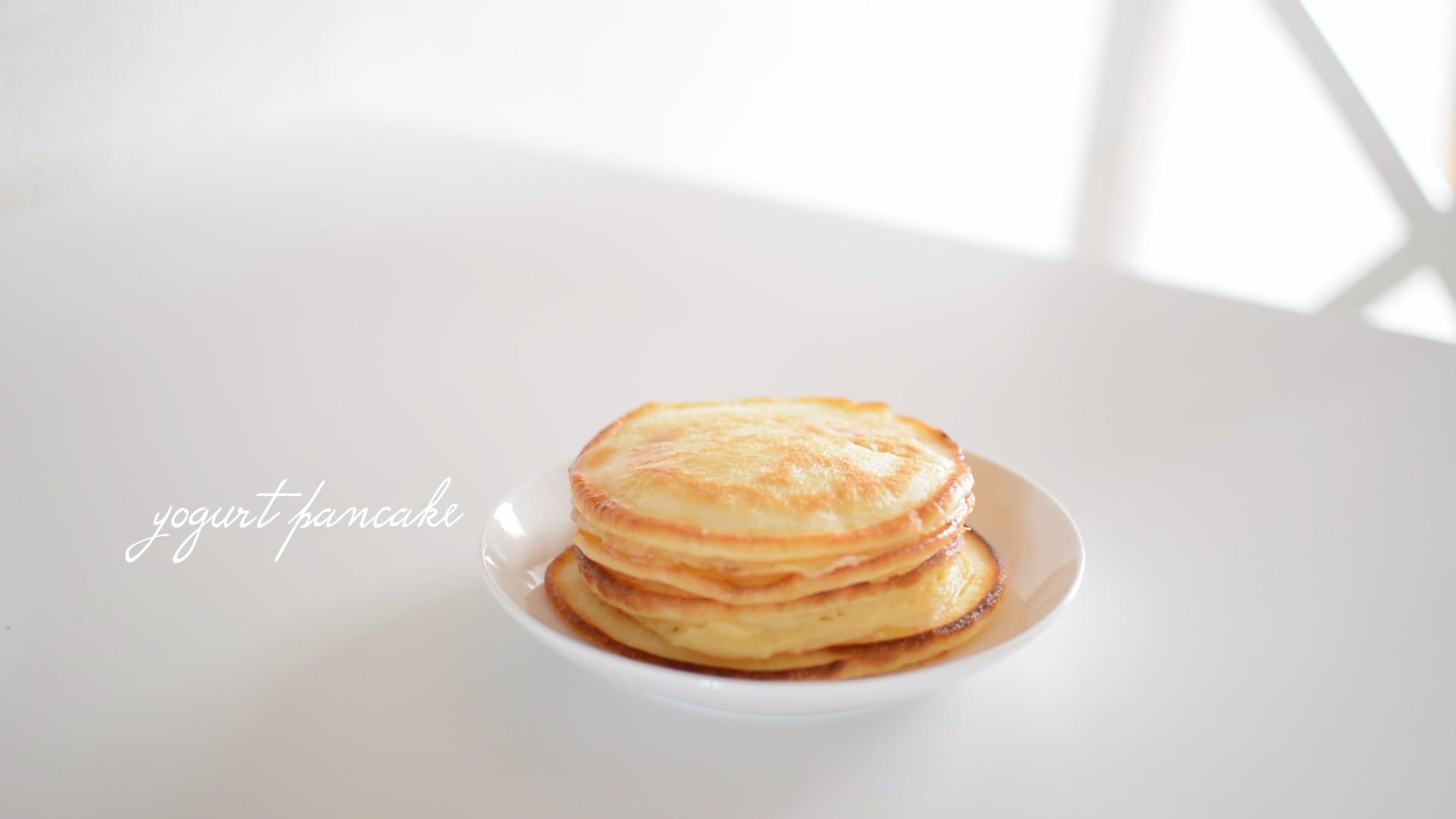 【お砂糖不使用】もちっと美味しい♪米粉のパンケーキ