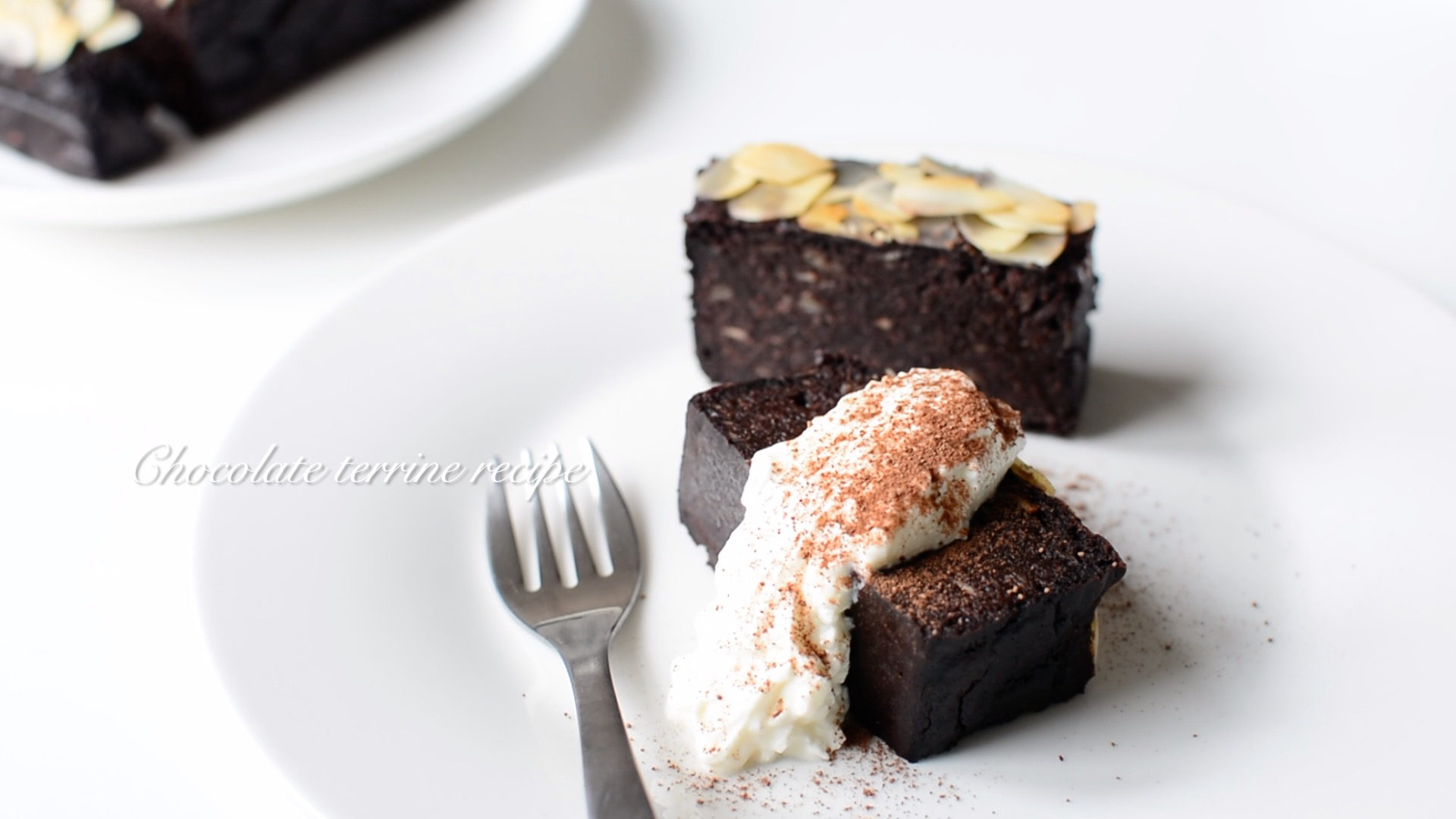 【チョコなし】豆腐とバナナのチョコレートテリーヌ【米粉】