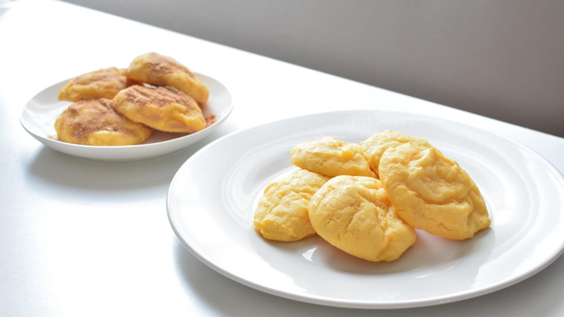 豆腐とおからのもちもち卵パン