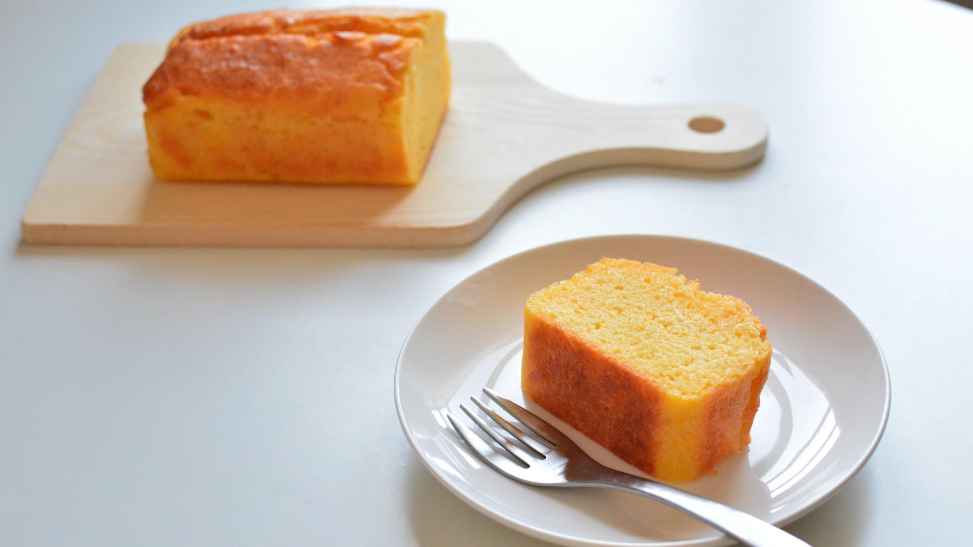 グルテンフリーのレモンケーキ