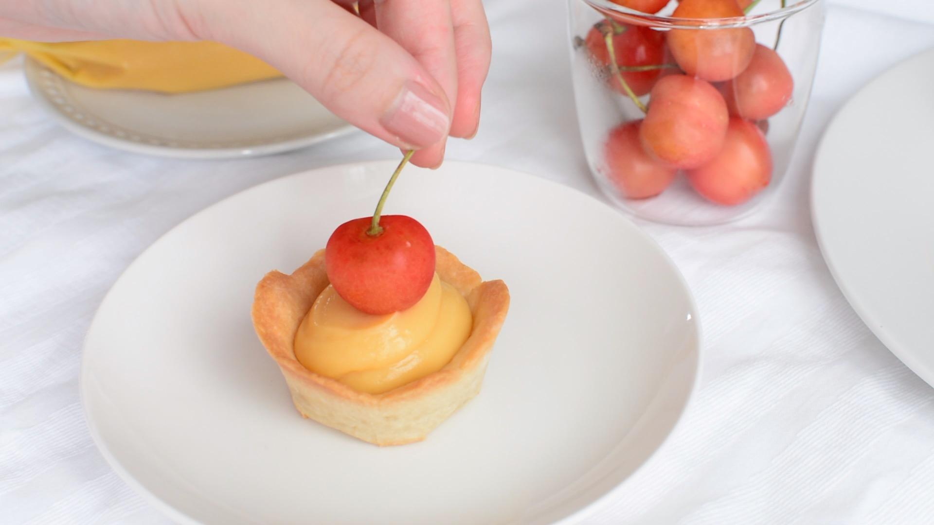 レモンタルト【米粉のタルト&豆乳レモンカード】レモンカード バターなし