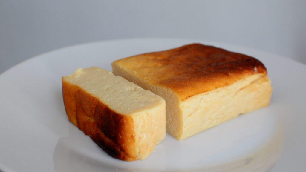 おからパウダーチーズケーキ