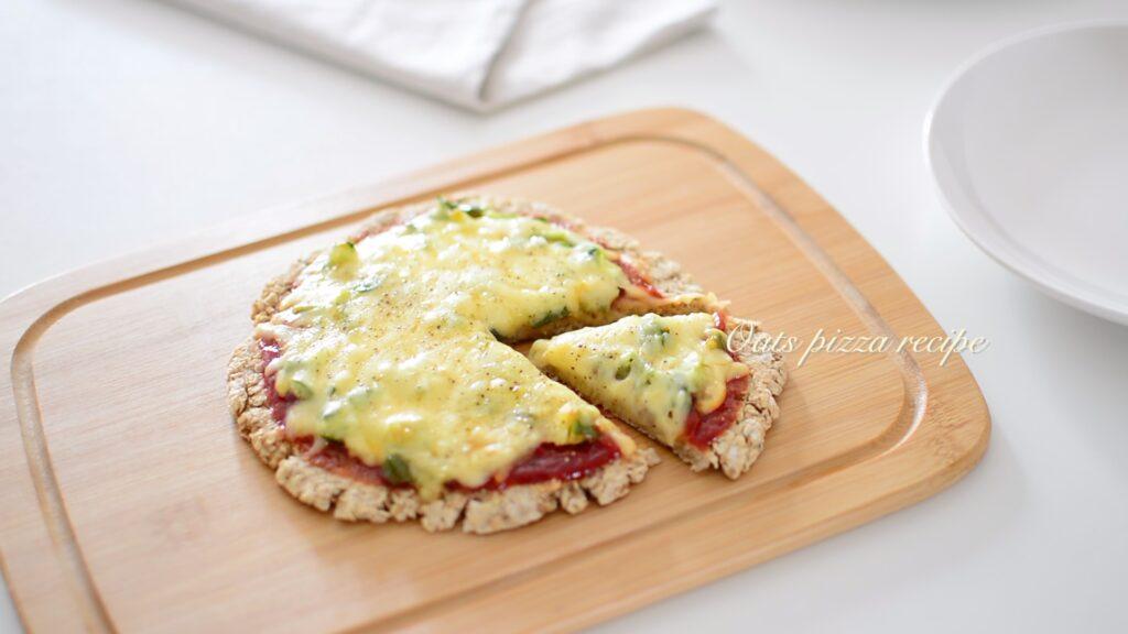 オートミールピザ