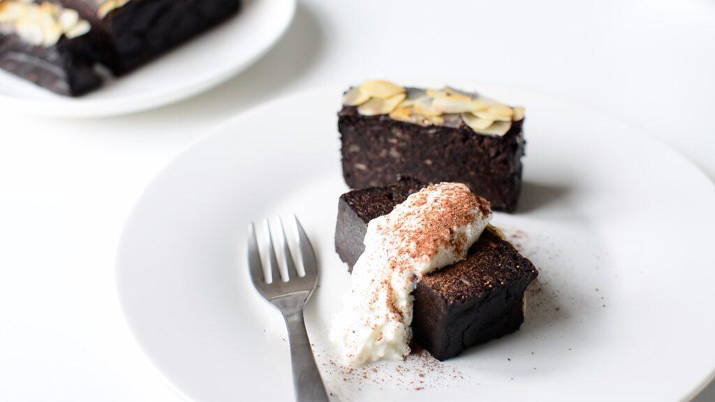 米粉チョコケーキ