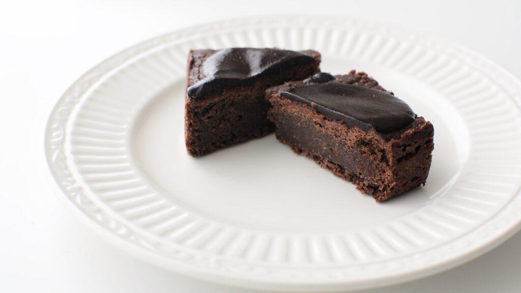 ヴィーガンチョコケーキ