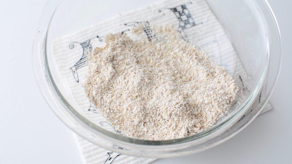オートミールパンレシピ