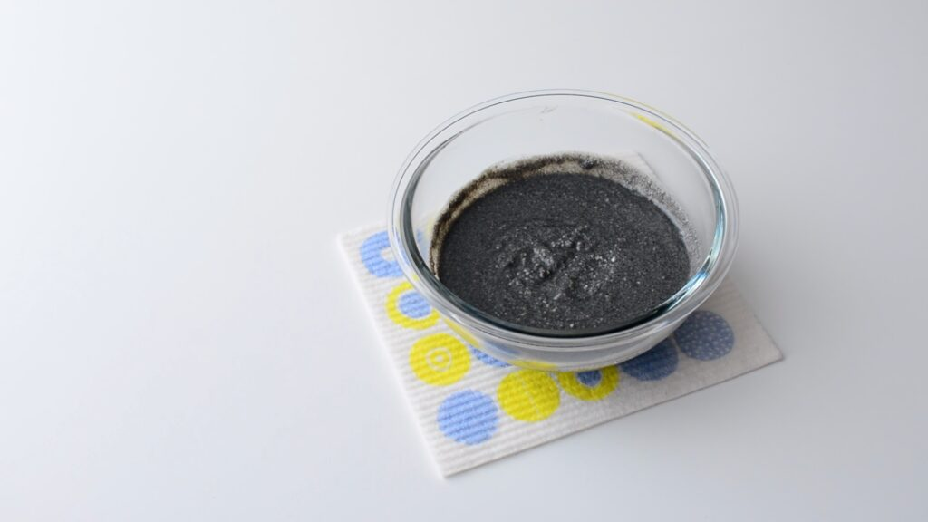 黒ごまアイスレシピ