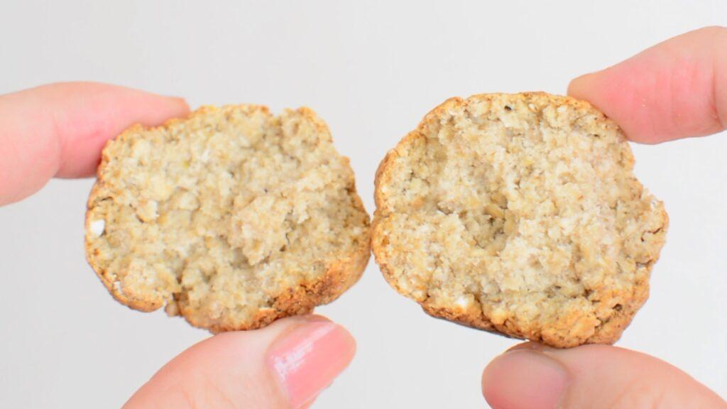 卵なしオートミールパン